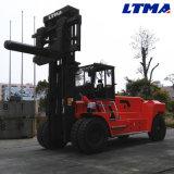 Carrello elevatore diesel idraulico di grande potere di 35 tonnellate con il collegamento della rampa della bobina
