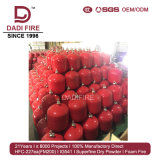 Het in het groot Elektrische Brandblusapparaat 3-10kgs schortte de Droge BrandblusApparatuur van het Poeder op