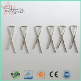 Изобретательность дизайн 33мм X форма металлический хомут рубашки для упаковки