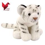 Brinquedo animal encantador do tigre branco