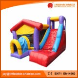 Castillo animoso combinado de salto inflable del Moonwalk del encerado del PVC (T3-601)