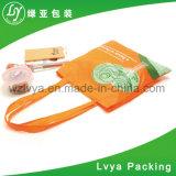 Sacchetto non tessuto pieghevole del sacchetto di acquisto del carrello del poliestere