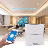 Interruptor da Luz de WiFi inteligente funciona com Alexa UK DE ESTILO DA UE
