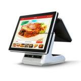 """15""""+9,7"""" doble pantalla táctil capacitiva Icp-Ea10sj Android caja registradora para POS supermercado/Sistema/restaurante/Retail"""