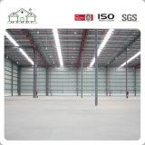 Edificio de la estructura de acero para el hangar/el garage