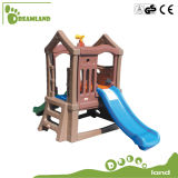 Oscilación y diapositiva portables determinados de los cabritos del patio al aire libre plástico plástico de los niños