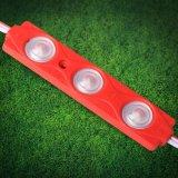 2835 SMD impermeável com iluminação de injeção de corrente constante 3 módulo de LED com objectiva