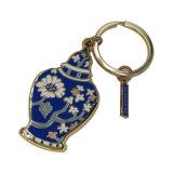 かわいい中心のKeychainの文字K Keychainの小型靴Keychain