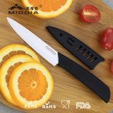 Cuchillo de cerámica profesional de la fábrica de China con la envoltura
