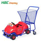 Het plastic Boodschappenwagentje van het Stuk speelgoed Carting voor Kinderen en Jonge geitjes