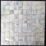 Mosaico blanco del shell 30*30 del agua dulce