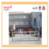 Plate-forme de Tdt/berceau/gondole suspendus triphasés/monophasés
