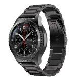 Correa de reloj del acero inoxidable para el reloj de Samsung, venda de reloj de la conexión del metal para Samsung S3