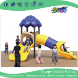 Piscina Blue Tree House em aço galvanizado crianças playground para venda (HG-10202)
