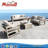 Piscina de alta qualidade Tecido confortável sofá de alumínio Estofados Cadeira Mobiliário Transversal
