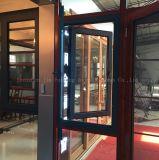 100 Serien-thermischer Bruch-Aluminiumflügelfenster-Fenster