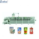 Liquide Horizontal Automatique, Raisin, de solides de noix, aliments de collation, les épices de la poudre de lait de noix de coco le café de sel Stand up Pouch Doypack Ffs Machine d'emballage