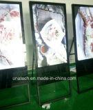 Pliage de la publicité numérique LCD Médias café-bar de la signalisation réseau autonome de l'écran Player