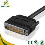 Conetor do cabo distribuidor de corrente do fio dos dados para a fiação do server de rede