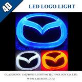 Lumière d'insigne de logo du véhicule 4D DEL pour Mazda