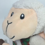 Nouveau design en peluche Séance personnalisée moutons animal en peluche Jouet souple