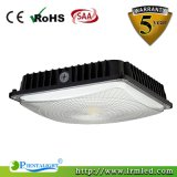 70W Meanwell Driver LED Canopy Lights com sensor de garagem de estacionamento Retrofit LED Light