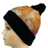 昇華印刷NTD1627を用いる編まれた帽子