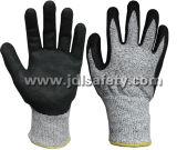 Resistente al corte de las obras de seguridad guante con recubierto de nitrilo (NDS8048)