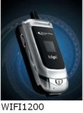 De dubbele Telefoon van de Wijze (PT-WIFI H1200)