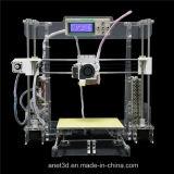 2016년 Anet 새 버전 Fdm 급속한 시제품 2 바탕 화면 DIY 3D 인쇄 기계