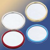 Miroir en aluminium Pocket de maquillage (M004)