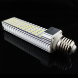 Lâmpada horizontal do plugue do diodo emissor de luz de Degeree AC85-265V 9W 12W 13W 15W 16W da luz 180 do diodo emissor de luz do G-24 SMD5050 do bulbo E27 do milho do diodo emissor de luz