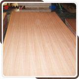 MDF natural de Sapele de la madera contrachapada de 6m m Sapele para los muebles