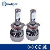 Ampoules faciles toutes de phare du véhicule DEL Hi/Lo d'installation de la lumière 40W 4000lm H4 6000K de véhicule de tête de lampe de faisceau de la pièce d'auto DEL Hi/Lo de constructeur dans un nécessaire de conversion