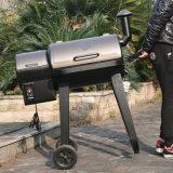 De roker bakt BBQ van het Braadstuk Grill