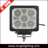 """5 """" indicatori luminosi resistenti E-Approvati del lavoro di 50W IP69K LED"""