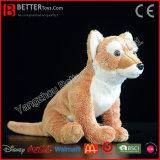 Dingo australiano macio do cão selvagem de animal enchido do brinquedo do cão do luxuoso