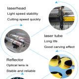 máquina de grabado de cristal del laser del CNC 3D, máquina del laser del CNC para el corte