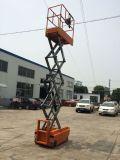 Электрический подъемный стол ножничного типа для использования склада (максимальная высота 3 м)