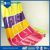 Компактное облегченное изготовленный на заказ полотенце пляжа печати