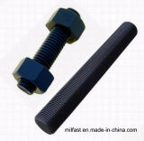 Rods et noix filetés ASTM A193 B7 A194 2h en Chine