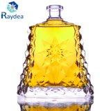 Bottiglia di vetro di goffratura per whisky 750ml