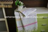 길쌈된 Jacquard Cotton 또는 Acyrlic Blended Throw (NMQ-CAT001)