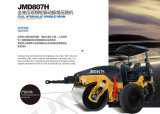 7 Tonnen-hydraulische doppelte Trommel-Vibrationsstraßen-Rolle (JMD807H)