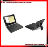 Lederner Fall mit Bluetooth Tastatur für iPad2 (MIPAD2-K001)
