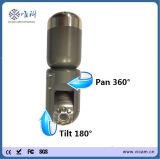 鍋の傾き360の回転式パイプラインの下水管の煙突の点検ビデオ・カメラ