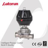 Válvula de diafragma neumática sanitaria inoxidable farmacéutica del acero 316L
