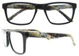 Oogglazen van de Goederen van Eyewear van de Frames van de Acetaat van de manier de Met de hand gemaakte Optische Klaar