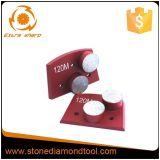 Металла этапа кнопки Lavina диамант двойного Bond меля
