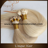 Virgem europeus mão atada completa extensão da trama de cabelo